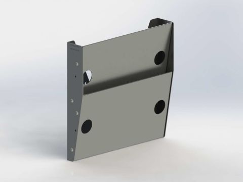 Paper Holder, Regular Depth, 2 Slots