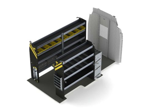 HVAC Van Shelving Package, Ford Transit High Roof