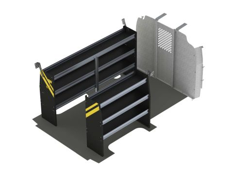 Contractor Van Shelving Package, Chevrolet Express, 135 WB