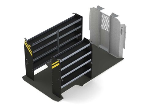 Contractor Van Shelving Package, RAM ProMaster, 159 WB