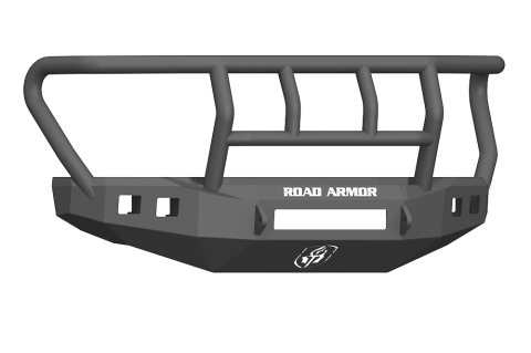 Front Stealth NON-Winch Bumper, Titan II Guard, Satin Black