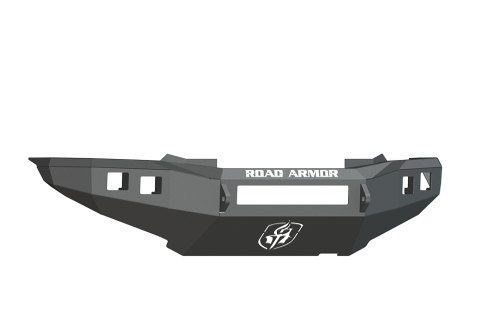 Front Stealth Non-Winch Illuminator Bumper, Satin Black