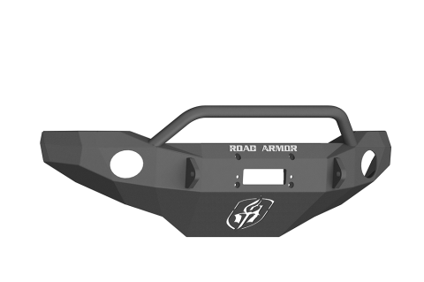Front Stealth Winch Bumper, Bull Bar, Satin Black