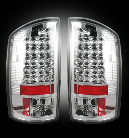 LED Tail Lights Clear