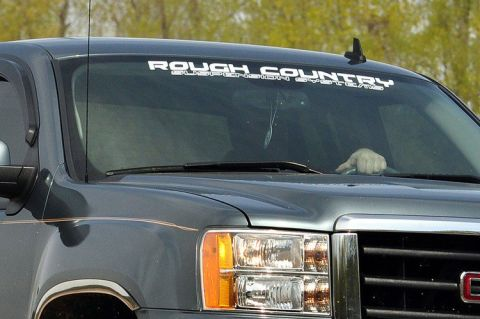 Rough Country Window Decal (25in)