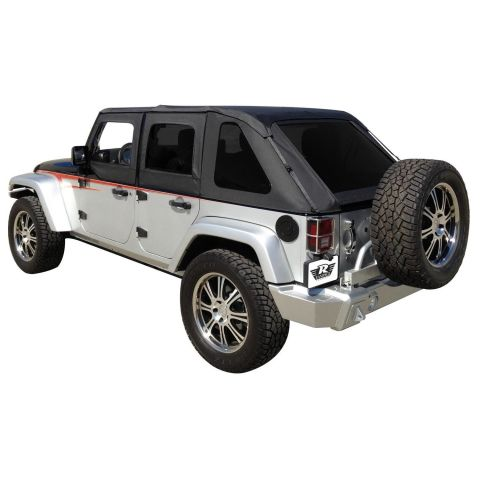 Frameless Soft Top Kit Sailcloth