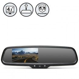 G-Series Rear View Replacement Mirror Monitor For Dodge Vehicles