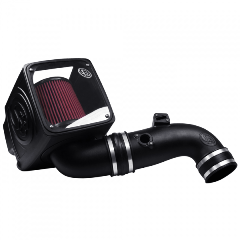 Cold Air Intake Kit (Cleanable 8-ply Cotton Filter)