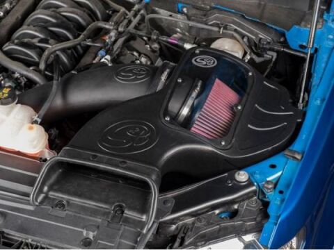 Cold Air Intake Kit (Cleanable, 8-ply Cotton Filter)