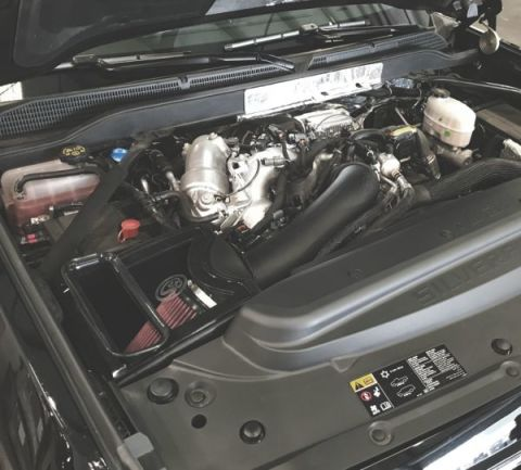 Cold Air Intake Kit (Dry Disposable Filter)
