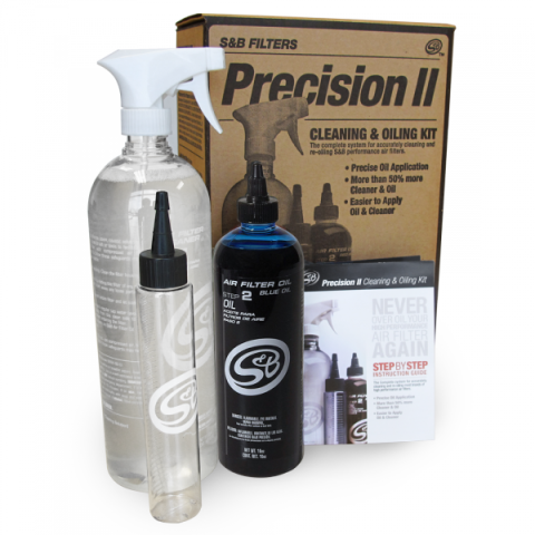 Precision II: Cleaning & Oil Kit (Blue Oil)