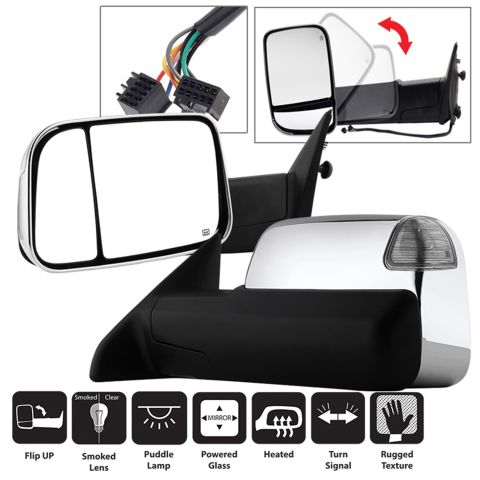 XTune Door Mirror Set