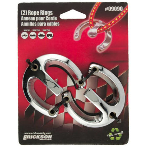 (2) Horseshoe Rope Cleat