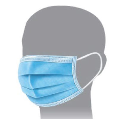 DISPOSABLE FACE MASK; BOX OF 50