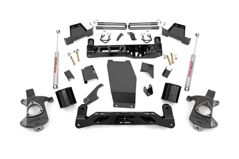 6-inch Suspension Lift Kit (Factory Cast Aluminum / Stamped Steel Control Arm Models) N2.0 Shocks
