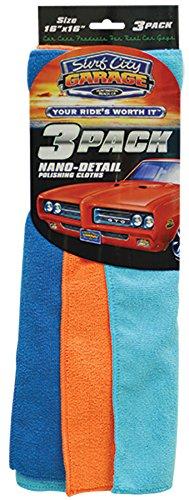 Nano-Detail Polishing Cloths (3-pack)